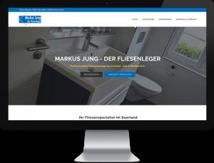 Webdesign Fliesenleger Markus Jung